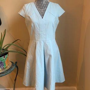 NWT Brooks Brothers Pastel Blue Dress